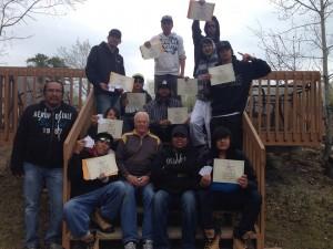 Firefighting Course Graduates